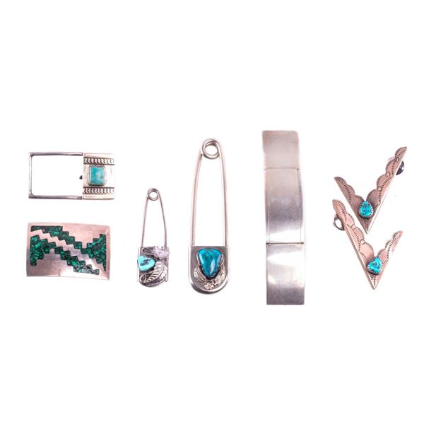 Navajo & Taxco Silver Turquoise Accessories