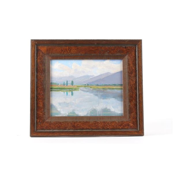 Hodges, Dave (1949 - ) Metcalf Range Montana Oil