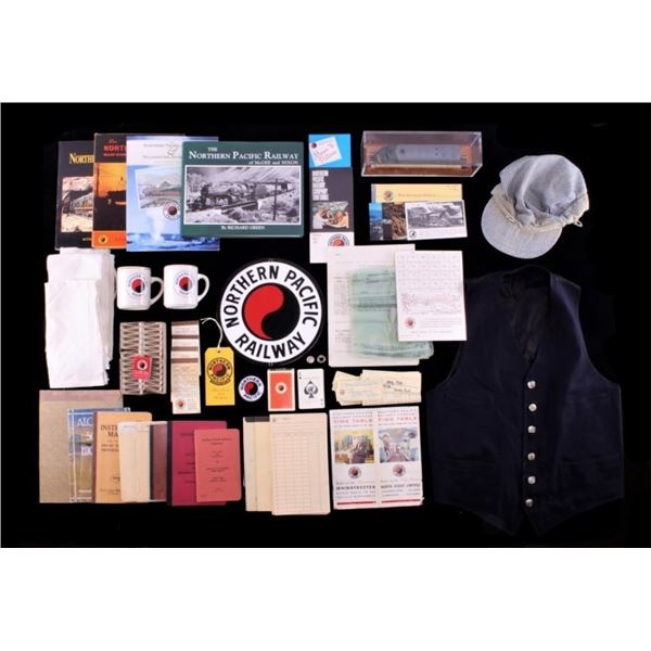 Collection of Northern Pacific Railroad Ephemera