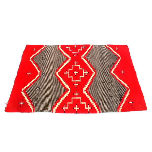 Navajo Third Phase Chief's Blanket Rug 1900-1950's