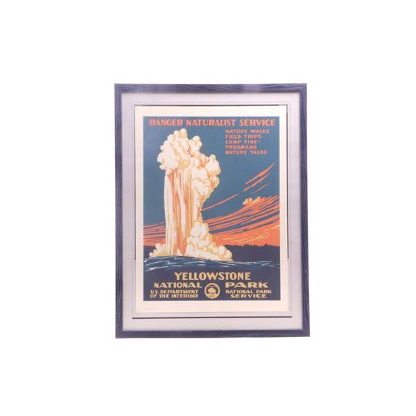 Yellowstone National Park Ranger Poster 1995