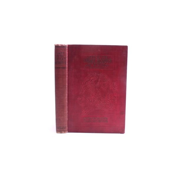 1899 1st Ed Last of the Great Scouts by HC Wetmore