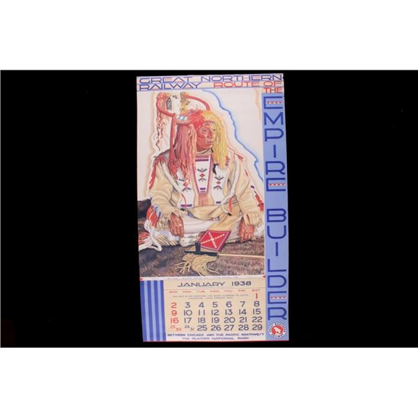 1938 W. Reiss Great Northern Railway Calendar