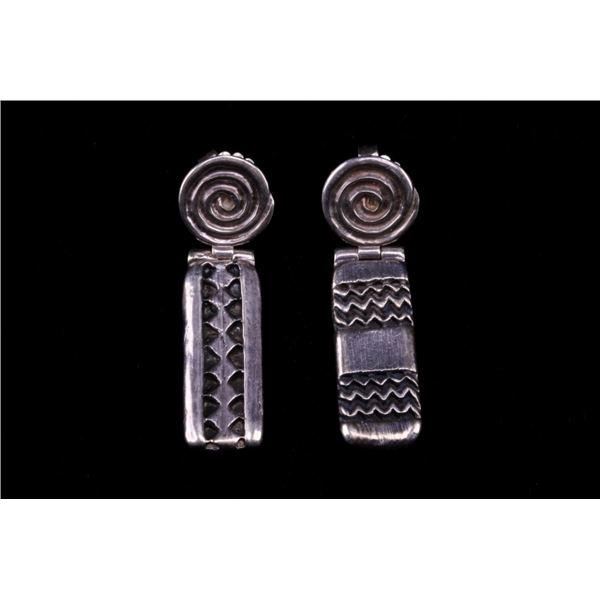 Patrick Mavros Hakata Ndoro Sterling Earrings