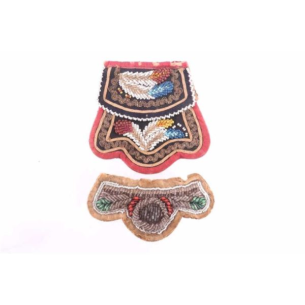 Iroquois Beaded Items from New York State 19th C.