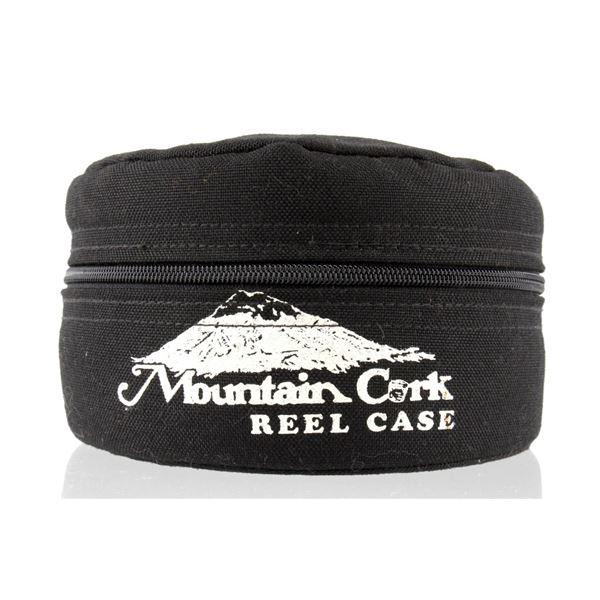20th C. Mountain Cork Fishing Reel Case