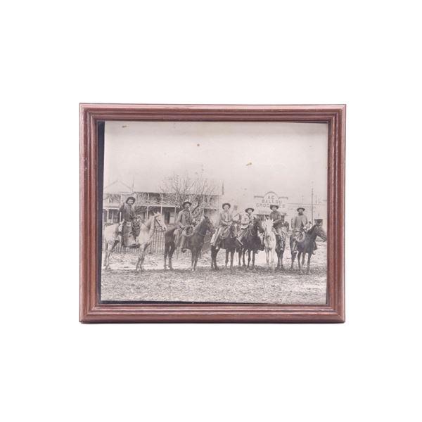 Original Montana Cowboys Photograph c.1890