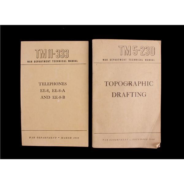 War Department Topographic Drafting Manuals