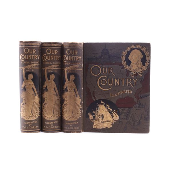 Our Country III Vo Collection by Benson J. Lossing