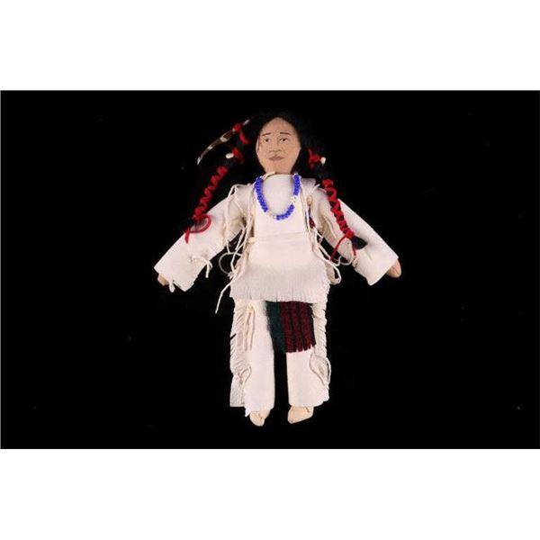 Lakota Sioux Beaded Hide Doll c. 2019