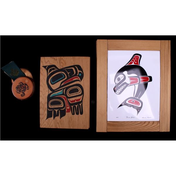 Pacific Northwest Indian Polychrome Box Collection