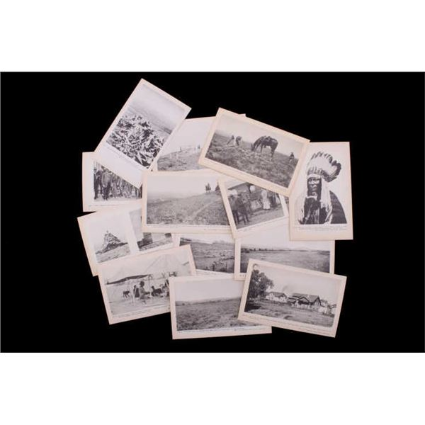 L.A. Huffman 1926 Series Postcard Collection