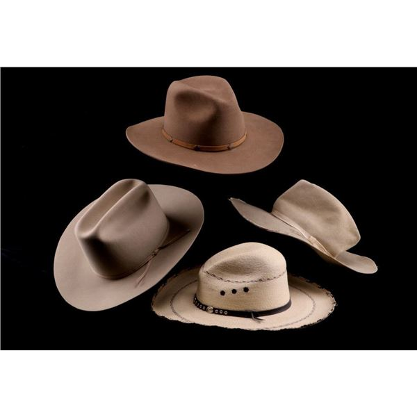Collection of Stetson & Outlaws Cowboy Hats