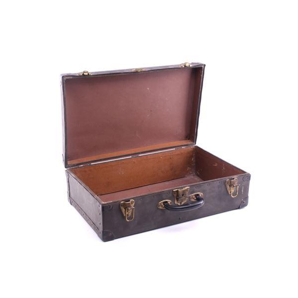 Corbin Wooden Hardback Luxury Travel Case c. 1940s