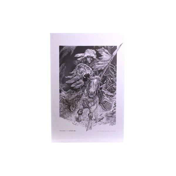 Ghost Avenger Linda-Bill O'Neill Print