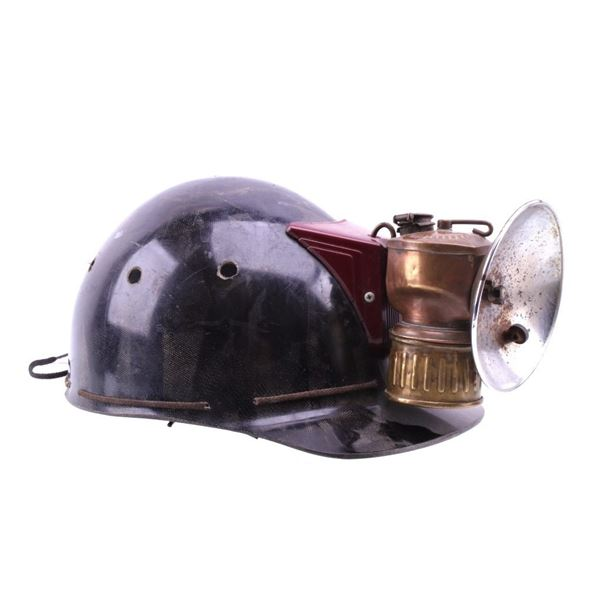 1930's Miner's Cover & Justrite Miners Lamp