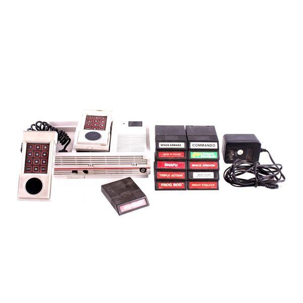 Mattel Intellivision II Video Game System & Games