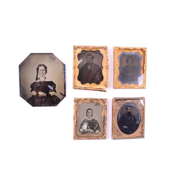Ambrotype Photographs circa 1800's