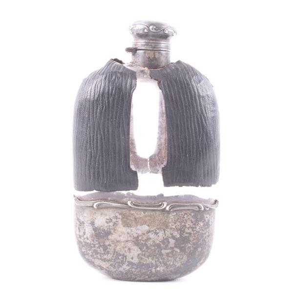 Gorham Sterling Silver Lizard Case Flask c.1865