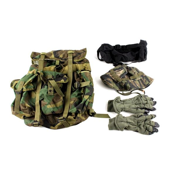 US Army Ruck Soft Pack Backpack & Contents