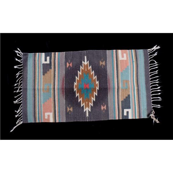 Zapotec Bright Mesa Sun Medallion Saltillo Rug