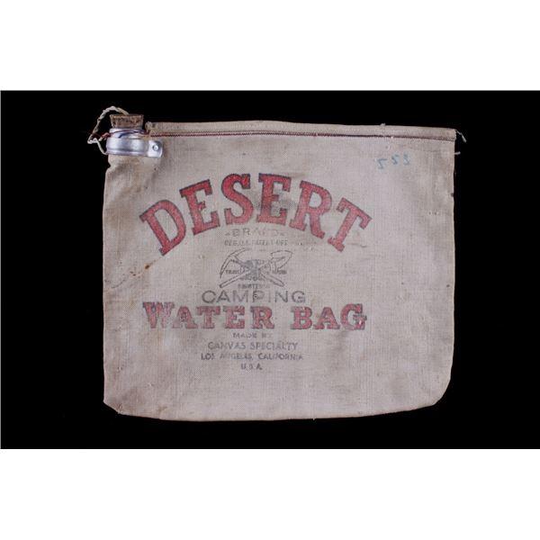 Desert Canvas Camping Water Bag