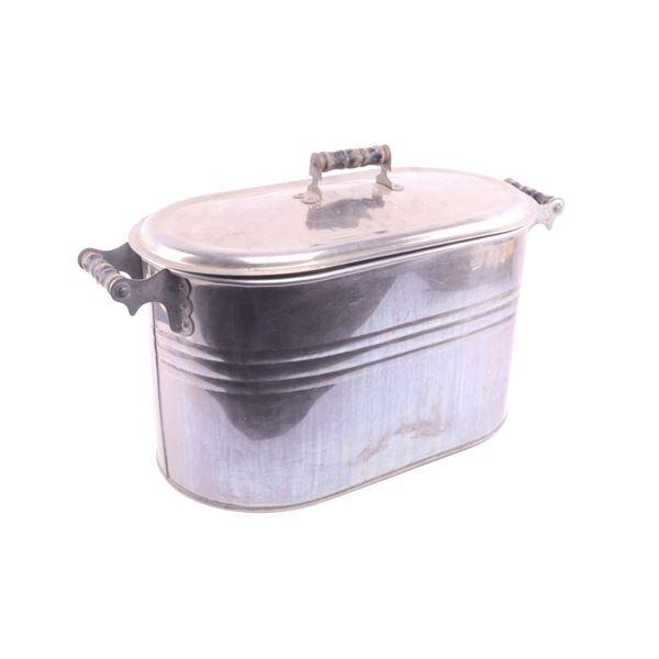 Large Stock Pot Soup Stew Dutch Oven c. 1940's