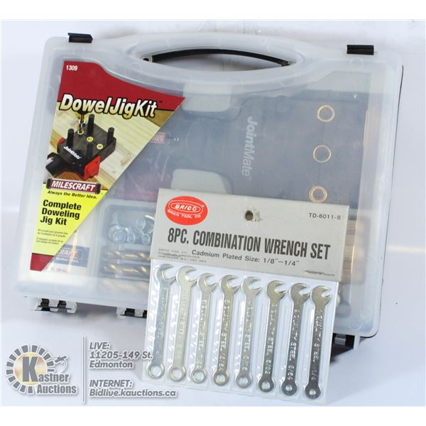 SEALED DOWEL JIG KIT WITH PINS