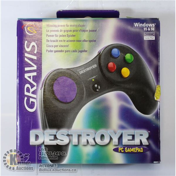 SEALED GRAVIS DESTROYER