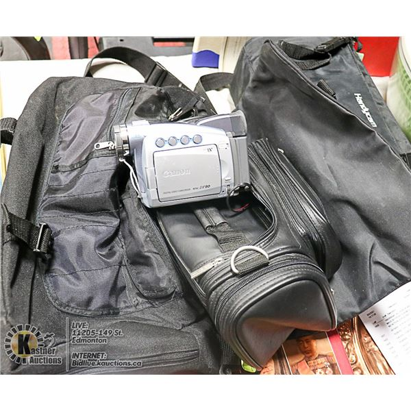 CANON DIGITAL VIDEO CAMCORDER NTSC ZR80