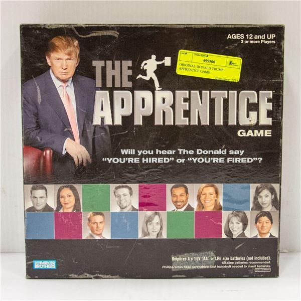 ORIGINAL DONALD TRUMP APPRENTICE GAME
