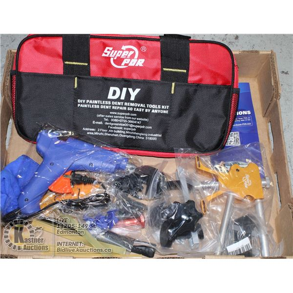 SUPERDPR PAINTLESS DENT REMOVAL TOOLS KIT.