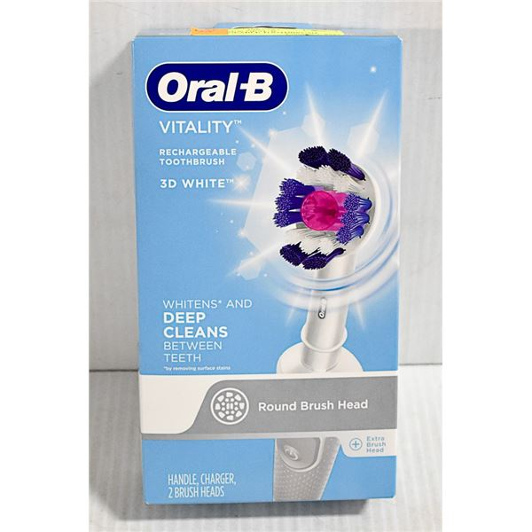 BRAND NEW ORAL-B RECHARGEABLE TOOTHBRUSH