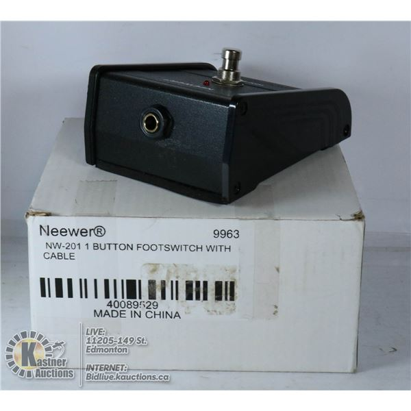 NEEWERE NW-201 1 BUTTON FOOT SWITCH WITH FOOT