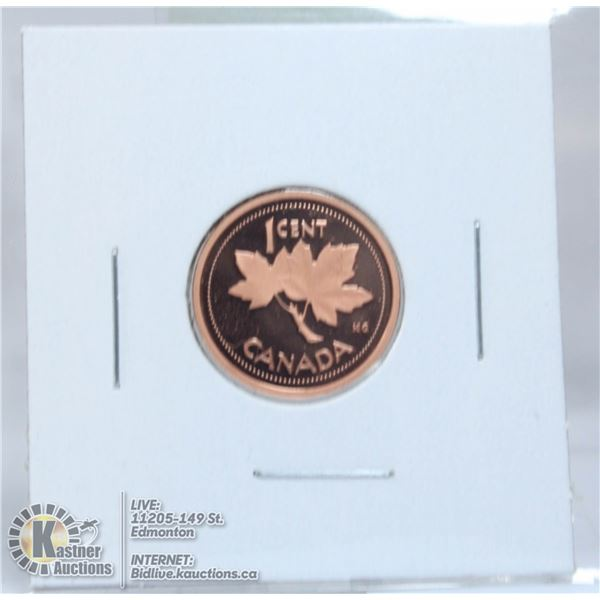 2002 PROOF CANADA SMALL CENT
