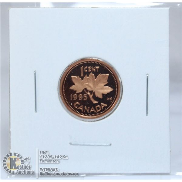 1995 PROOF CANADA SMALL CENT