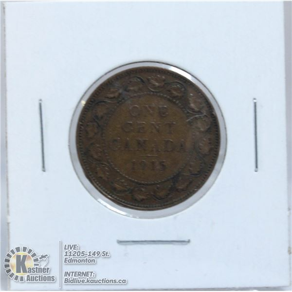 1915 GEORGE V CANADA LARGE CENT
