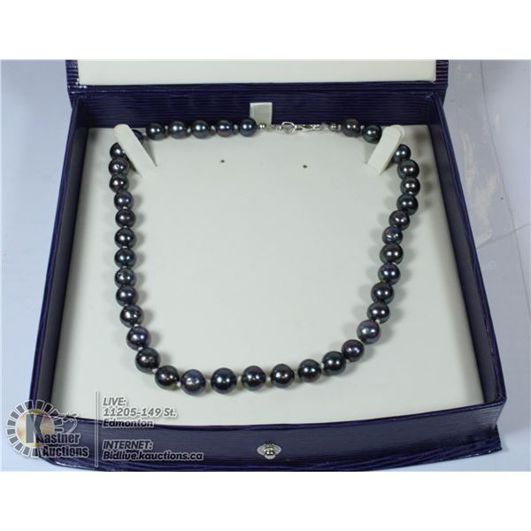 LARGE HANDMADE SILVER 925 TIBETAN NECKLACE AND