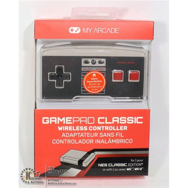 NEW MY ARCADE GAMEPAD WIRELESS CONTROLLER