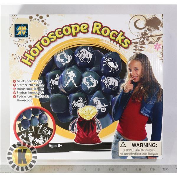 NEW HOROSCOPE ROCKS DECORATION SET