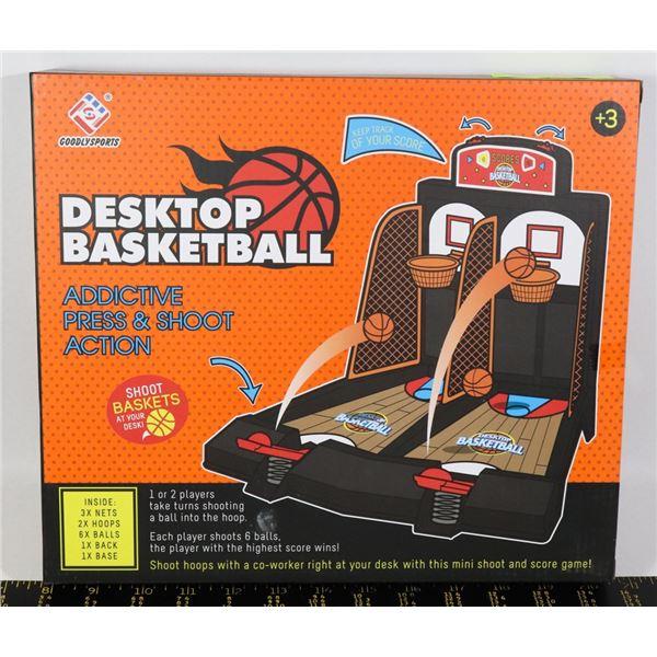 NEW DESKTOP BASKETBALL KID OR ADULT GAME