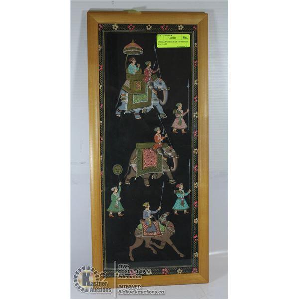 1990 DAWN HRDLIEKA FROM INDIA WALL ART