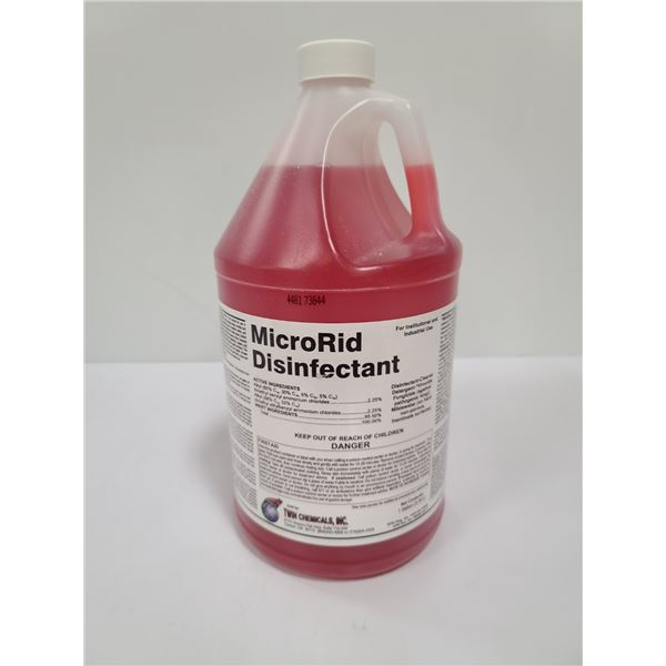 1 GALLON MICRORID INDUSTRIAL STRENGTH DISINFECTANT