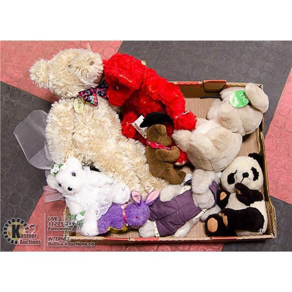 ASSORTED TEDDY BEARS