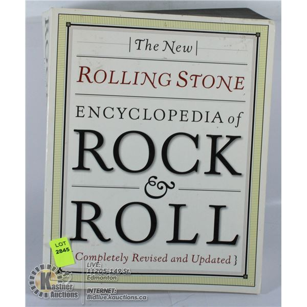 HARDCOVER THE NEW YORK ROLLING STONES ENCYCLOPEDIA