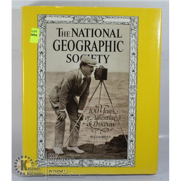 HARDCOVER NATIONAL GEOGRAPHIC SOCIETY BOOK.