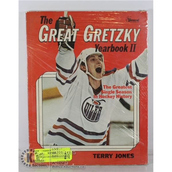THE GREAT GRETZKY YEARBOOK II 1982