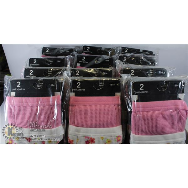LARGE FLAT OF TRAINING UNDERWEAR FOR 18M OLDS.