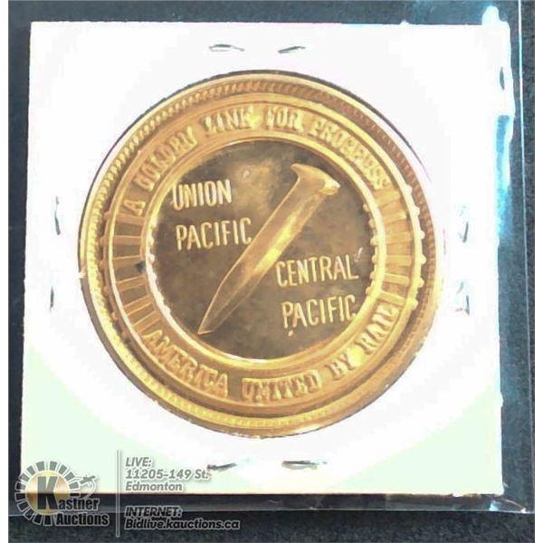 1969 GOLDEN SPIKE CENTENNIAL MEDAL