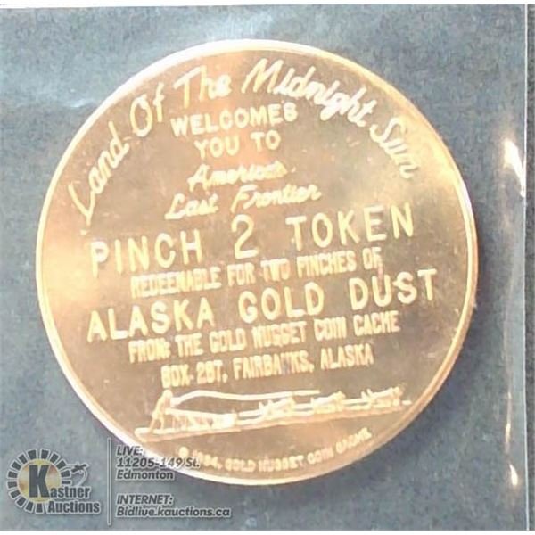 1964 SO-CALLED-DOLLAR, ALASKA GOLD CACHE
